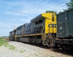 CSX 399 helps pull